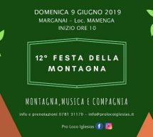 FESTA DELLA MONTAGNA – IGLESIAS – DOMENICA 9 GIUGNO 2019