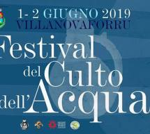 FESTIVAL DEL CULTO DELL'ACQUA – VILLANOVAFORRU – 1-2 GIUGNO 2019