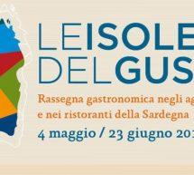 LE ISOLE DEL GUSTO – 4 MAGGIO – 23 GIUGNO 2019