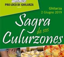 SAGRA DE SOS CULURZONES – GHILARZA- DOMENICA 2 GIUGNO 2019