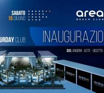 OPENING SATURDAY CLUB – AREA 41 BEACH CLUB – IL LIDO – CAGLIARI – SABATO 15 GIUGNO 2019
