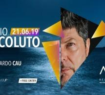 SPECIAL GUEST CLAUDIO COCCOLUTO – ARIA BEACH LOUNGE- QUARTU SANT'ELENA – VENERDI 21 GIUGNO 2019