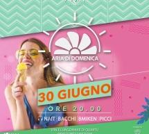 ARIA DI DOMENICA- ARIA BEACH LOUNGE – QUARTU SANT'ELENA – DOMENICA 30 GIUGNO 2019