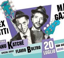 ALEX BRITTI & MAX GAZZE' – SAN GIOVANNI di SINIS – SABATO 20 LUGLIO 2019