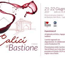CALICI AL BASTIONE – CAGLIARI – 21-22 GIUGNO 2019