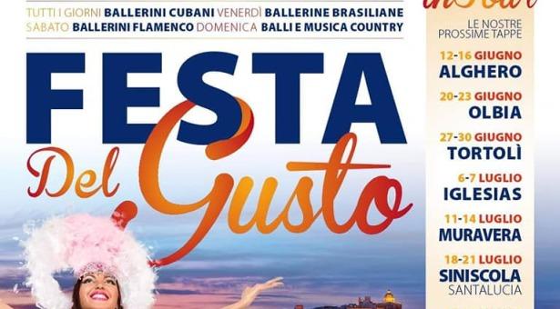 FESTA DEL GUSTO – ALGHERO – 12-16 GIUGNO 2019