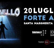 FIORELLO -FORTE ARENA- SANTA MARGHERITA DI PULA – SABATO 20 LUGLIO 2019