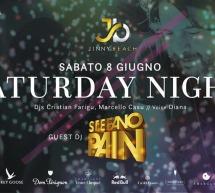 SPECIAL GUEST DJ STEFANO PAIN – JINNY BEACH – QUARTU SANT'ELENA – SABATO 8 GIUGNO 2019