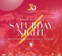 SATURDAY NIGHT – JINNY BEACH – QUARTU SANT'ELENA – SABATO 22 GIUGNO 2019