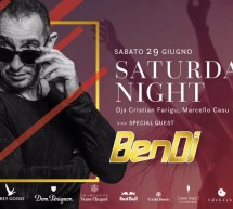 SATURDAY NIGHT – SPECIAL GUEST BEN DJ – JINNY BEACH – QUARTU SANT'ELENA- SABATO 29 GIUGNO 2019