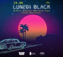 LUNEDI BLACK – ARIA BEACH LOUNGE – QUARTU SANT'ELENA – LUNEDI 24 GIUGNO 2019