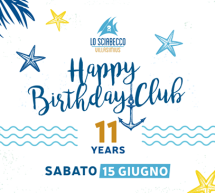 HAPPY BIRTHDAY SCIABECCO- VILLASIMIUS – SABATO 15 GIUGNO 2019