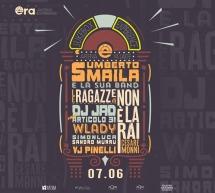 ERA-DJ JAD-UMBERTO SMAILA – LE RAGAZZE DI NON E' LA RAI – OPERA BEACH ARENA – QUARTU SANT'ELENA – VENERDI 7 GIUGNO 2019