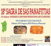 SAGRA DE SAS PANAFITTAS – NUGHEDU SAN NICOLO' – SABATO 29 GIUGNO 2019