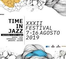 XXXII FESTIVAL TIME IN JAZZ – BERCHIDDA – 7-16 AGOSTO 2019