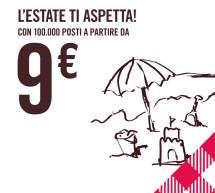 100.000 VOLI A PARTIRE DA 9 € CON VOLOTEA
