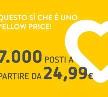 YELLOW PRICE VUELING – 7000 POSTI A PARTIRE DA 24,99 €
