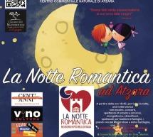 LA NOTTE ROMANTICA-  ATZARA  – SABATO 22  GIUGNO 2019