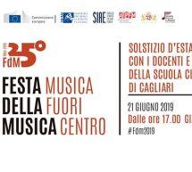 25° FESTA DELLA MUSICA FUORI CENTRO – CAGLIARI – VENERDI 21 GIUGNO 2019
