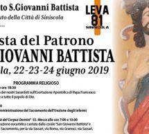 FESTA DI SAN GIOVANNI BATTISTA -SINISCOLA -22-23-24 GIUGNO 2019