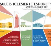 IL SULCIS IGLESIENTE ESPONE – CARBONIA – DOMENICA 16 GIUGNO 2019