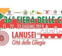 FIERA DELLE CILIEGIE – LANUSEI – 21-22-23 GIUGNO 2019
