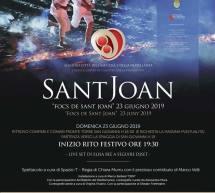FOCS DE SANT JOAN – ALGHERO – DOMENICA 23 GIUGNO 2019