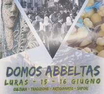DOMOS ABBELTAS – URAS – 15-16 GIUGNO 2019