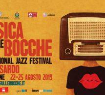 MUSICA SULLE BOCCHE – CASTELSARDO- 22-25 AGOSTO 2019