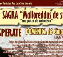 6° SAGRA MALLOREDDUS DE STUA – SAN SPERATE – DOMENICA 16 GIUGNO 2019