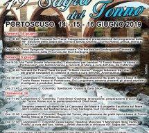 SAGRA DEL TONNO -PORTOSCUSO – 14-15-16 GIUGNO 2019