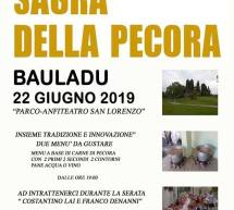 SAGRA DELLA PECORA – BAULADU – SABATO 22 GIUGNO 2019