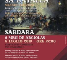 CONTENDI E CANTENDI SA BATALLA – SARDARA- SABATO 6 LUGLIO 2019
