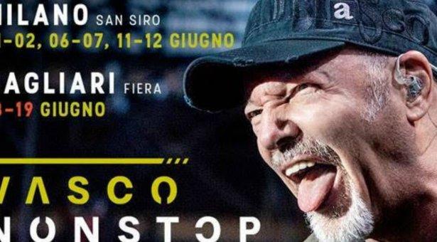 VASCO ROSSI IN CONCERTO – CAGLIARI – 18-19 GIUGNO 2019