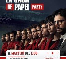LA CASA DE PAPEL PARTY- AREA 41 – CAGLIARI – MARTEDI 30 LUGLIO 2019