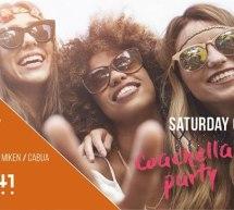 SATURDAY CLUB – AREA 41 BEACH CLUB  -LIDO – CAGLIARI – SABATO 6 LUGLIO 2019