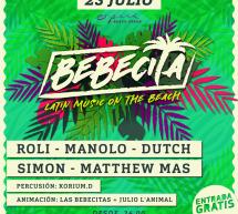 BEBECITA – OPERA BEACH ARENA -QUARTU SANT'ELENA – MARTEDI 23 LUGLIO 2019