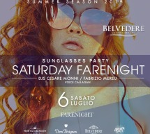 SUNGLASSES PARTY – BELVEDERE BEACH -QUARTU SANT'ELENA – SABATO 6 LUGLIO 2019