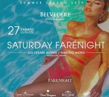 SATURDAY NIGHT – BELVEDERE BEACH -QUARTU SANT'ELENA – SABATO 27 LUGLIO 2019