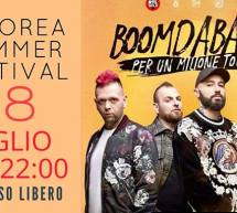 BOOMDABASH – PER UN MILIONE TOUR – ARBOREA – GIOVEDI 18 LUGLIO 2019