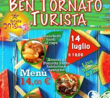 BEN TORNATO TURISTA-  MONTI – DOMENICA 14 LUGLIO 2019