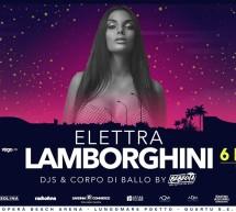 ELETTRA LAMBORGHINI & LA NOCHE LATINA- OPERA BEACH ARENA – QUARTU SANT'ELENA- SABATO 6 LUGLIO 2019