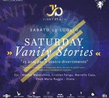 SATURDAY VANITY STORIES – JINNY BEACH – QUARTU SANT'ELENA – SABATO 13 LUGLIO 2019