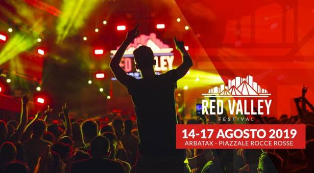 RED VALLEY FESTIVAL 2019 – ARBATAX – 14-17 AGOSTO 2019