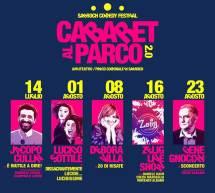 CABARET AL PARCO 2.0 – SARROCH – 14 LUGLIO – 23 AGOSTO 2019