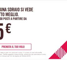 25.000 BIGLIETTI A PARTIRE DA 5 € CON VOLOTEA