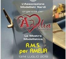 MOSTRA MODELLISTICA A.M.S. PER AMELIA – CAGLIARI – 13-14 LUGLIO 2019