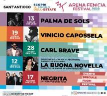 ARENA FENICIA FESTIVAL – SANT'ANTIOCO -PROGRAMMA COMPLETO –  13 LUGLIO – 17 AGOSTO 2019
