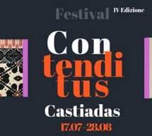 FESTIVAL CONTENDI CONTUS – CASTIADAS – 17 LUGLIO – 28 AGOSTO 2019
