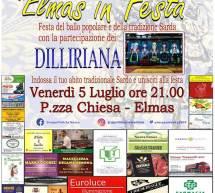 ELMAS IN FESTA – VENERDI 5 LUGLIO 2019